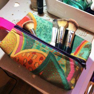 kosmetyczka z zasłonki