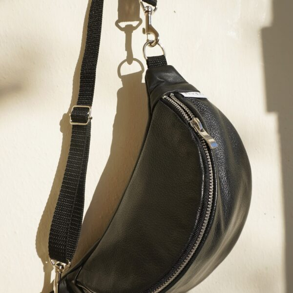 Nerka Black Leather
